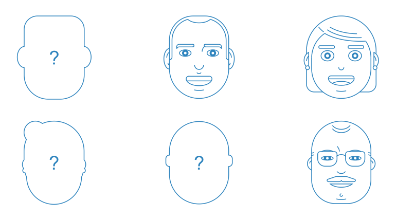 Creating client personas for UX Design Planning