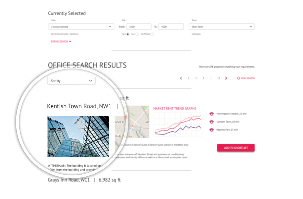 Search fields custom functions for commercial agents