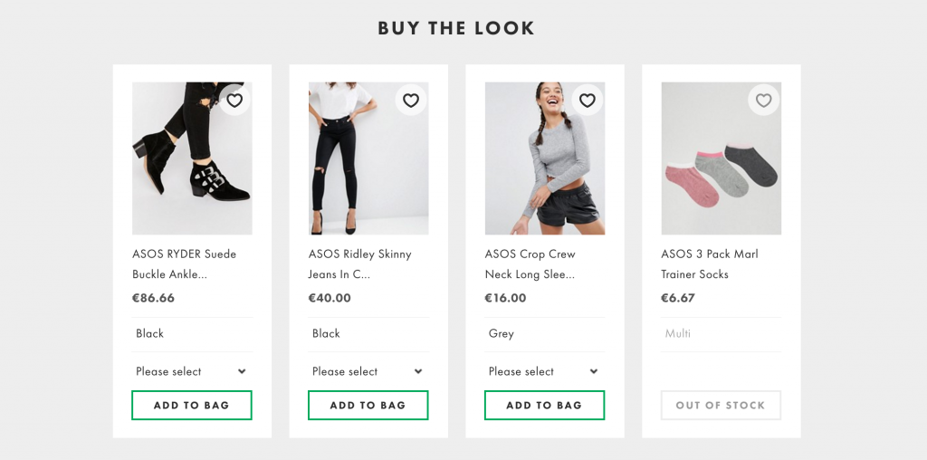 SHop the look for ecommerce good ux design