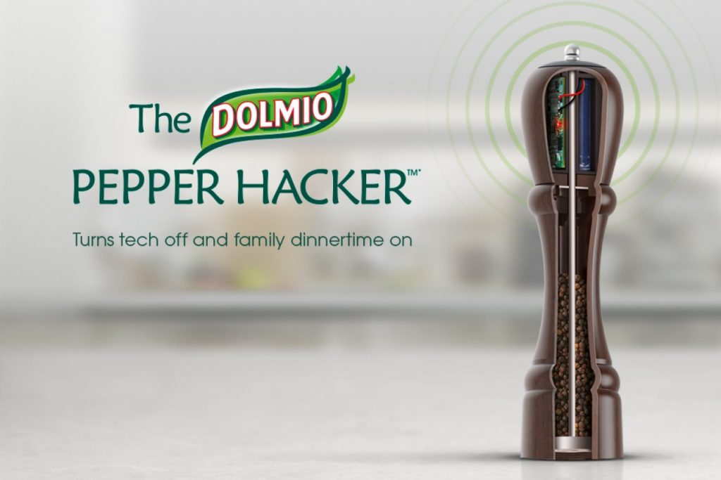 dolmio pepper hacker