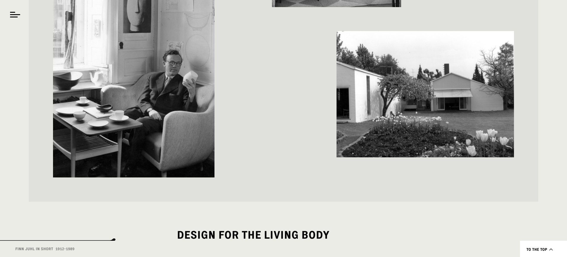 Best Luxury Websites Design: Finn Juhl