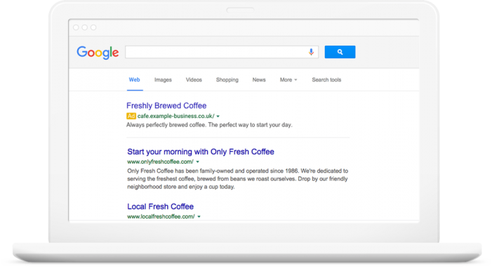 Google AdWords Copy Creation Tool Header