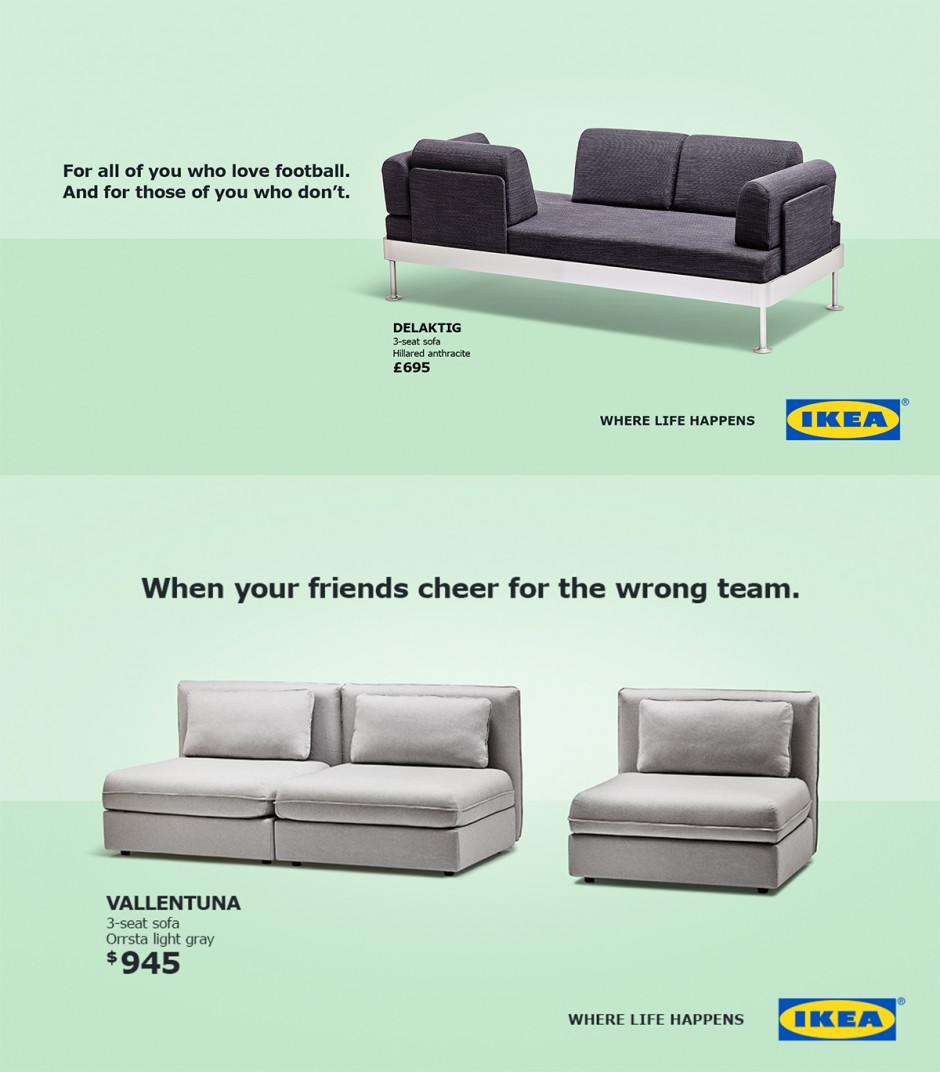 Ikea world Cup marketing