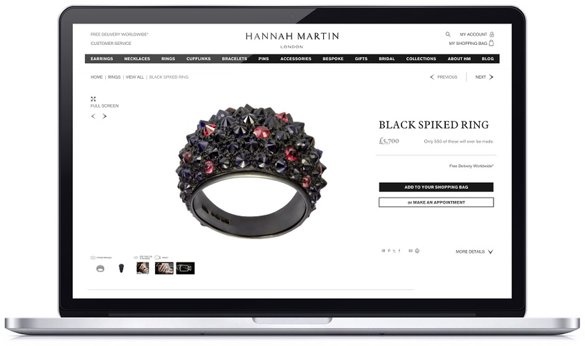 Product Page Example Hannah Martin