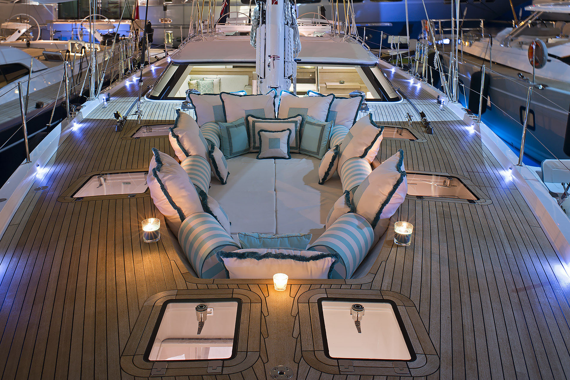 Oyster Yacht by Hill House The Art of Bespoke